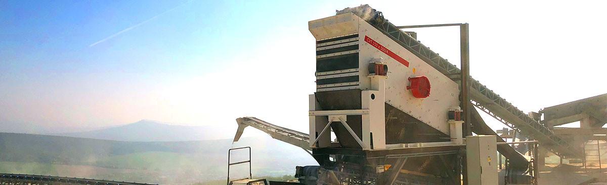Obrázok hlavičky produktu - Screening machines CVT | vomet.sk